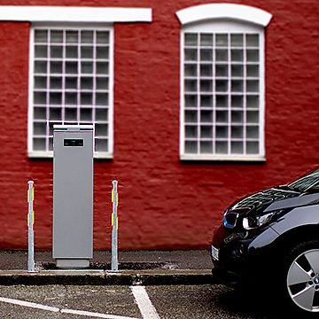 public charging station in Norway